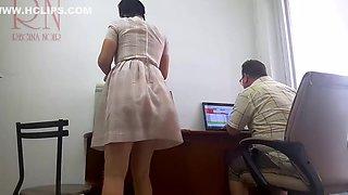 The Boss Is Fucking The Secretary Securitycam 2