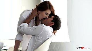 Romantic Gal Irina Pavlova in Anal Video