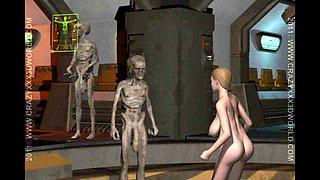 3D Animation: Alien Abduction 2
