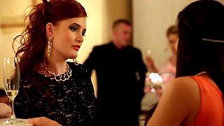 Horny pornstars Denisa Heaven and Ferrara Gomez in crazy redhead, latina porn video