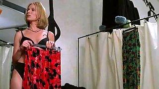 Tamara Tunie,Charlize Theron,Connie Nielsen in The Devil's Advocate (1997)