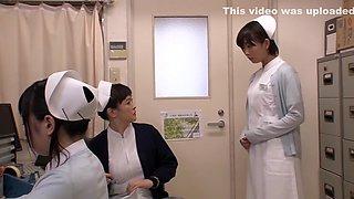 Exotic Japanese slut in Horny Nurse, Big Tits JAV scene