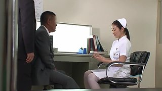 Exotic Japanese whore Maria Ono in Incredible Medical, Stockings JAV video