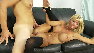 Fit milf Kasey Storm and her amazing body in a hardcore scene