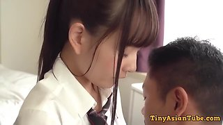 Cute And Shy 18yo Japanese Girl - Fetish Hardcore With Cumshot - 18 Years Old