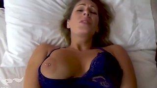 Son Molests Sleeping Mom & Fucks Her - Nikki Brooks