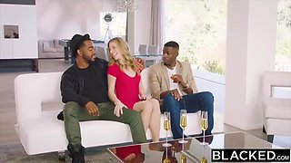 Interracial 4some Porn With Anya Olsen And Cadence Lux