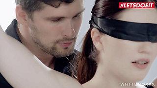 LETSDOEIT - Mia Evans' First Bondage Sex with A Big Dick