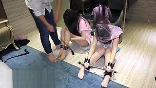 chinese girl double bondage