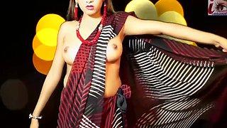 Saree nude