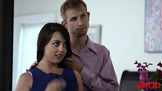 Nice fucking in the bedroom with cock hungry Whitney Wright
