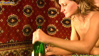 Drunk Russian slut Natalia