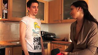 MIRA BLACKMAILED STEPBROTHER SNIFF YOUR SISTERS KINKY HOLES