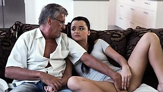 Daddy pal's daughter workout and lucky old fart What
