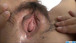 Nasty toy insertion porn with Erena Kurosawa