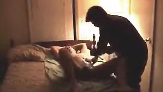 Helping friend with hot wife