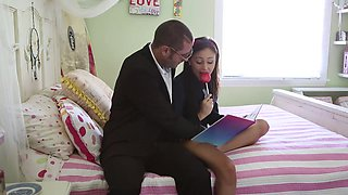 High School Senior Getting Fucked In Plaid Skirt With Ariana Marie