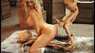3D Hobbit Monster Sex Dream!