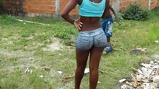 Brazilian Amazing Butt Girl 2!