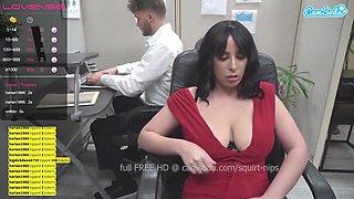 Public Lactation From Latina Milf! Secretary Squirts - Nina Lopez