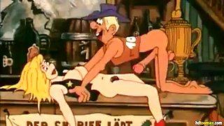 Baschwanza hot old school cartoon porn video