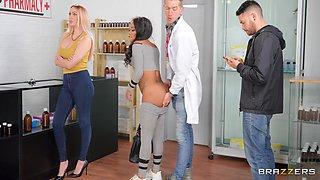 Fucked In Line At The Pharmacy With Kiki Minaj