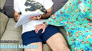 Sexy teacher Fucked hard In Class by her student – Hindi