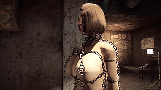 Fallout 4 - Bondage in chains