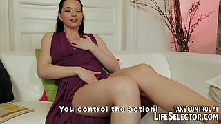 Cheating housemaid gets punished by angry wife