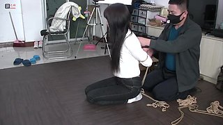 New Chinese Girl Bondage