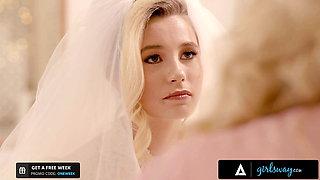 GIRLSWAY – Cougar Julia Ann Fucks Bride-To-Be Carolina Sweets
