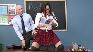 Big Tits at School: Sybian Schoolgirl. Karlee Grey, Johnny Sins