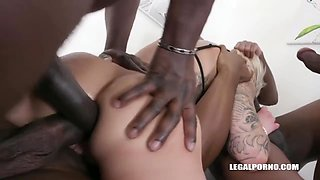 Feisty Handles Black Cocks With Ease - Mila Milan