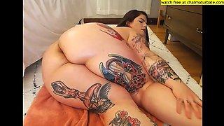 Fat big ass girl naked body