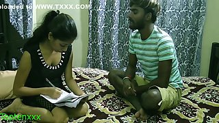 Indian Sexy Madam Sudden Sex With Student: Uncut Webseries