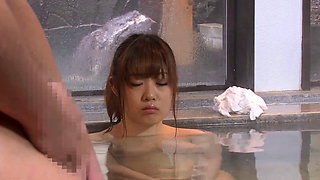 Brother And Sister In Japanese Onsen Spa