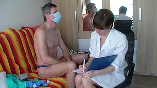 new examination of Mrs. Doctor Nikolka from Russia