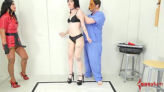 Young Babe Goth Girls Gets Rough Rump Sex Act Punishment With Lots Of Atm