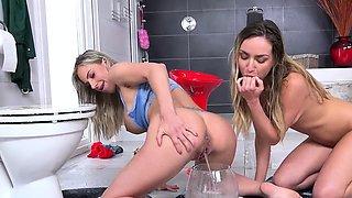 Vipissy - Human Toilets - Lesbian Piss Drinking