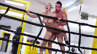 Hardcore fucking in the gym with stunning MILF Nicole Aniston