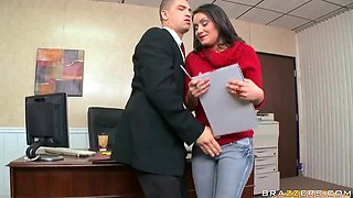 Bruce Venture Gets The Job By Fucking Her Future Boss At Her Interview