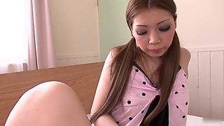 Amazing Japanese whore Ayumi Kobayashi in Hottest JAV uncensored Masturbation clip