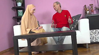 POV anal buxom muslim lady knows how tu suck a dick pornstar