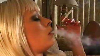 Layla Jade is a Hot Smoking Bitch