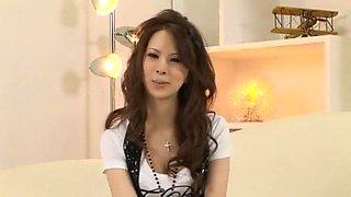 Horny Japanese slut Ema Kisaki in Crazy Dildos/Toys, Masturbation/Onanii JAV movie