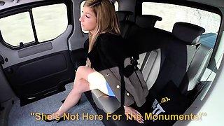 VipSexVault - Hot car fuck with beautiful Czech teen
