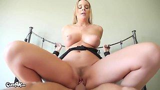Cum-dripping Dominatrix With Alexis Adams