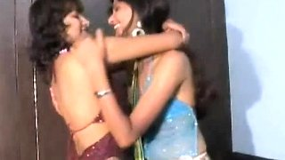 Cute Indian GF Performing Lesbian Act In Bedroom