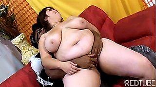 Big Ass BBW Latina Fucking Black Cock