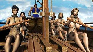 3D Slaves Get Banged